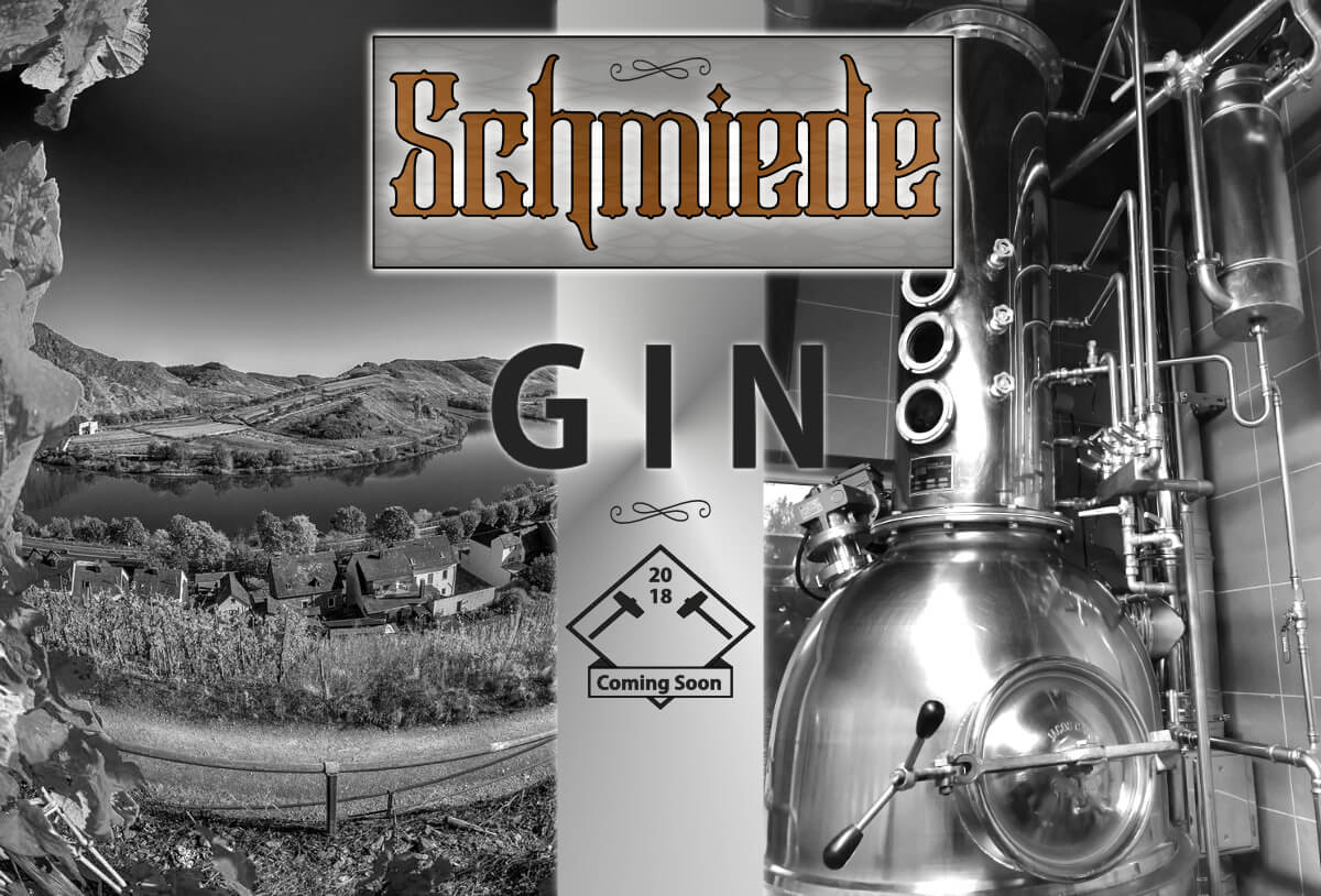 Schmiede Gin Coming Soon