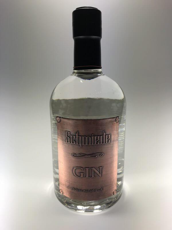 Schmiede Gin Flasche