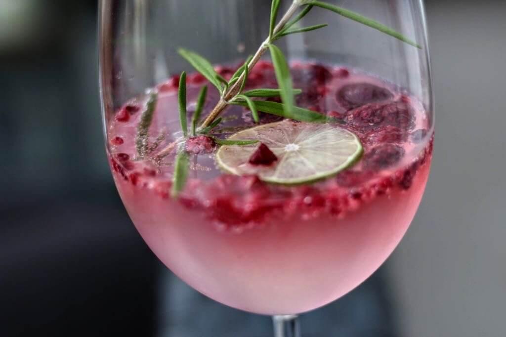 Raspberry Schmiede Gin Tonic
