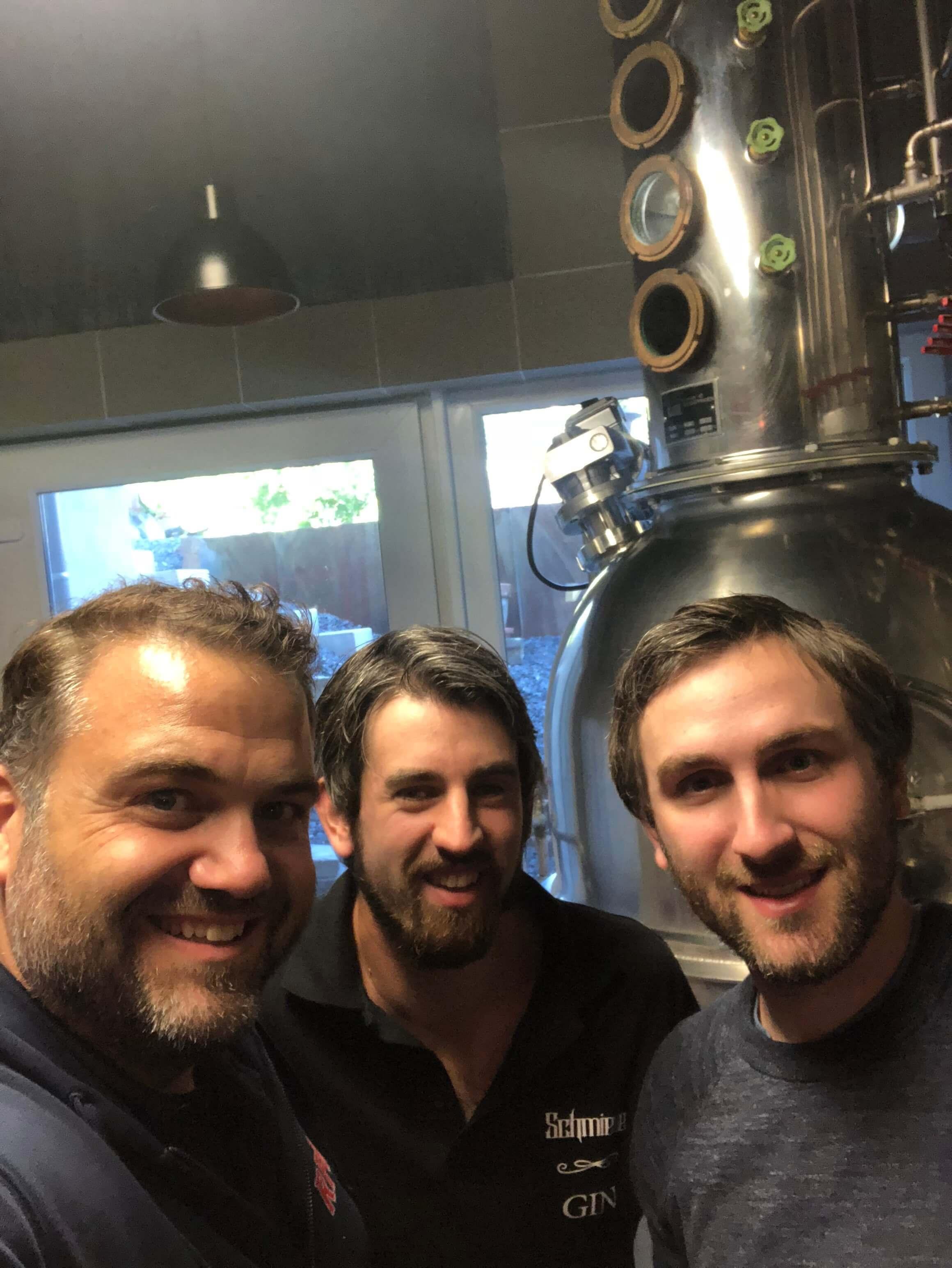 Kunze RPR1 Besuch Schmiede Gin